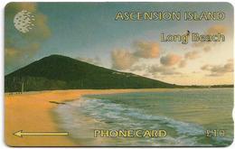 Ascension Isl. - Long Beach, 6CASB, 1994, 5.000ex, Used - Islas Ascensión