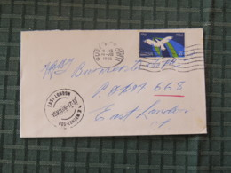 South Africa 1966 Cover Queenstown To East London - Flying Bird - Arms On Back - Libretti
