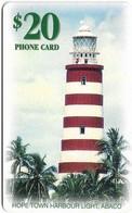 Bahamas - Batelco - Harbour Lighthouse, 1999, Chip Gem1A Symmetric Black, 20$, Mint (check Photos!) - Bahama's