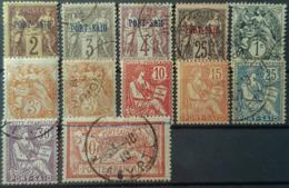 PORT SAID - MLH/canceled - YT 2, 3, 4, 11, 20, 22, 22, 25, 26, 28, 29, 30 - Port Said (1899-1931)