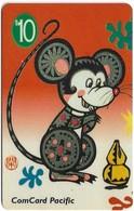 Nauru - Comcard Pacific - The Year Of The Rat - 10$, Used - Nauru