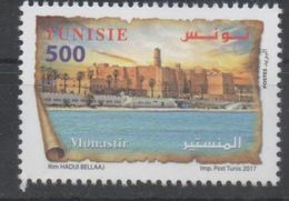 TUNISIA, 2017, MNH,  MONASTIR, CASTLES, FORTS, 1v - Castles
