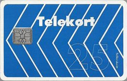 Norway - Telenor - Blue Arrow - N-003E (Not Fluor) - Chip SC6 - 1991, 10.000ex, Used - Norvège