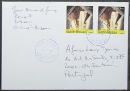 Guine-Bissau - Cover To Portugal Minerals Perforate & Imperforate - Minerali