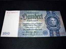 ALLEMAGNE 100 Reichsmark 24/06/1935,1924, Pick 183 A , GERMANY - [ 3] 1918-1933 : Weimar Republic