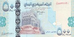 YEMEN 500 RIALS 2007 P- 34 UNC LARGE SIZE EDITION  */* - Jemen