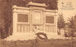 KORTRIJK - Standbeeld Der Gesneuvelden Van Den Oorlog 1914-18 - Kortrijk