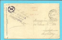 """Foto-kaart """" Krijgsgevangenen / Camp"""" Verzonden Van SOLTAU Naar Londres - Kriegsgefangenschaft"""