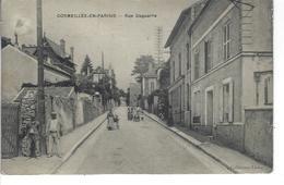 95 - CORMEILLES EN PARISIS - ( Val D'Oise ) - Belle Vue Animée De La Rue Daguerre - Cormeilles En Parisis