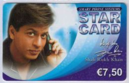 STAR CARD  - Voice Telecom - Shah Rukh Khan - € 7,50 -  Voir Scans - France