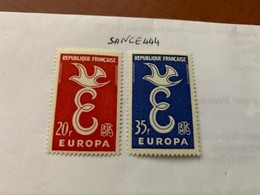 France Europa 1958  Mnh #ab - 1957
