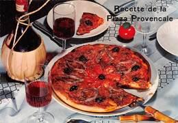 "09466 ""RECETTE DE LA PIZZA PROVENCALE - EMILIE BERNARD""  RICETTA N° 12.  CART NON SPED - Ricette Di Cucina"