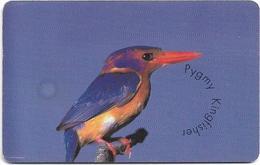 S. Africa - MTN - Birds - Pygmy Kingfisher, 01.1998, 15R, Used - Zuid-Afrika