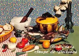 """09467 """"RECETTE DE LA SOUPE DE POISSONS - EMILIE BERNARD""""  RICETTA N° 31.  CART NON SPED - Ricette Di Cucina"""