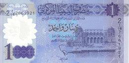 LIBYA 1 DINAR 2019 P-new POLYMER UNC */* - Libië