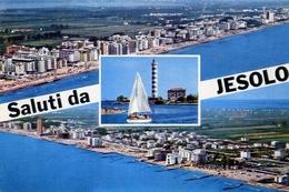 Saluti Da Jesolo - Formato Grande Viaggiata – E 13 - Venezia