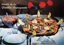 "09470 ""RECETTE DE LA PAELLA ESPAGNOLE - EMILIE BERNARD""  RICETTA N° 19.  CART NON SPED - Ricette Di Cucina"