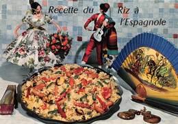 """09471 """"RECETTE DU RIZ A L''ESPAGNOLE - EMILIE BERNARD""""  RICETTA N° 32.  CART NON SPED - Ricette Di Cucina"""