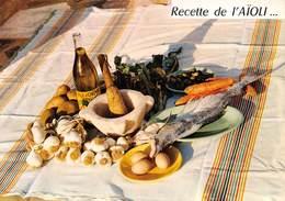 """09472 """"RECETTE DE L'AIOLI - EMILIE BERNARD""""  RICETTA N° 2.  CART NON SPED - Ricette Di Cucina"""