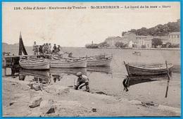 CPA 83 Environs De Toulon - St SAINT-MANDRIER Var - Le Bord De La Mer (Port) - Saint-Mandrier-sur-Mer
