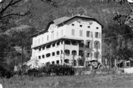 """09480 """"VALLE D'AOSTA - SAINT VINCENT - HOTEL DU PARC""""  VEDUTA.  FOTO ORIGINALE - Luoghi"""