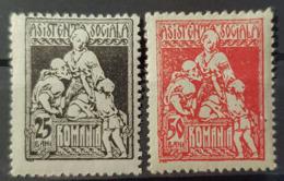 ROMANIA 1932-37 - MLH - Sc# RA15 + 50b (fiscally Used) - Ongebruikt