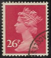 GB SG X971 1982 Machin 26p TI Good/fine Used [40/32656/25D] - 1952-.... (Elizabeth II)