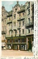 13309286 Karlsbad_Eger Marktplatz Haus Zawojski Karlsbad_Eger - Schneeberg