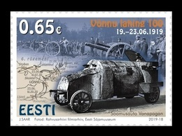 Estonia 2019 Mih. 961 Estonian War Of Independence. Battle Of Vonnu MNH ** - Estland