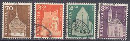 HELVETIA - SUISSE - SVIZZERA - 1967 - Serie Completa Usata Composta Da 4 Valori: Yvert 795/798. - Usati