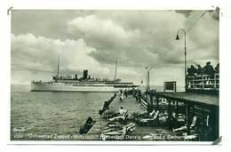Sopot Ostseebad Zoppot Motorschiff Statek Ok 1930 R - Polonia