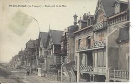 Bouleverd De La Mer, PARIS_PLAGE (Le Touquet),  France, Timbre Manquant (D11) - Le Touquet