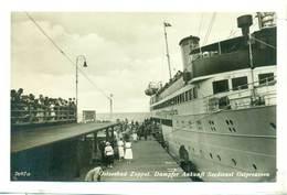 Sopot Ostseebad Zoppot Dampfer Statek Ok 1930 R - Polonia