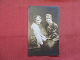 RPPC  Two Females Ref    3568 - Fashion