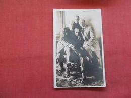 RPPC    Group Of Men         Ref    3568 - Postcards