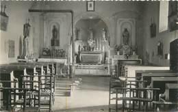 """CPSM FRANCE 71 """"Barnay, Intérieur De L'Eglise"""" - France"""