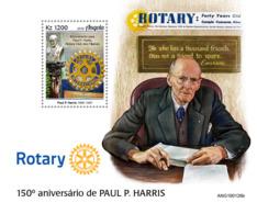 Angola  2019    Paul P. Harris ,rotary  S201907 - Angola