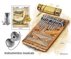 Angola  2019   Music Instruments  S201907 - Angola