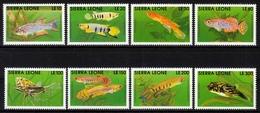 Sierra Leone MiNr. 1631/38 ** Fische - Sierra Leone (1961-...)