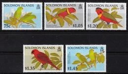 Salomonen MiNr. 904/08 ** Papageien - Salomoninseln (Salomonen 1978-...)