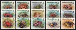 Salomonen MiNr. 807/21 ** Freimarken: Krebstiere - Salomoninseln (Salomonen 1978-...)