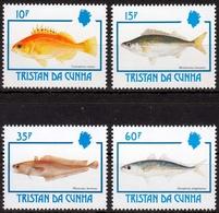 Tristan Da Cunha MiNr. 526/29 ** Fische - Tristan Da Cunha