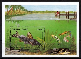 Sierra Leone MiNr. Bl. 166 ** Fische - Sierra Leone (1961-...)