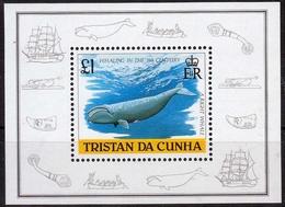 Tristan Da Cunha MiNr. Bl. 21 ** Walfang Im 19. Jahrhundert - Tristan Da Cunha