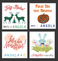 Angola  2019  Personalized Stamps ,cartoon ,christmas  S201907 - Angola