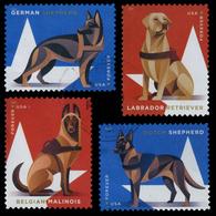 Etats-Unis / United States (Scott No.5399-02 - Chiens / Dogs) (o) Set TB /VF - Used Stamps