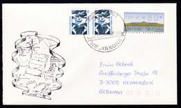 "SCHIFFSPOST MS ""ARKONA"" 20.06.93 + Cachet Island-Spitzbergen-Kreuzfahrt - Unclassified"
