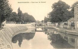 13504768 Montargis_Loiret Vue Sur Le Canal Montargis Loiret - France