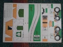 Plance à Découper - Tracteur RENAULT . TX - 48 / 33 Cm - - Trattori