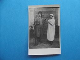 MILITARIA  -  Carte Phoro  Soldat Spahis ? Et Infirmière  -  Beau Cliché - Guerra 1914-18